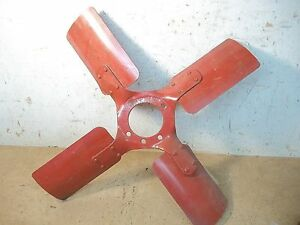 Lot E Vintage Ihc Or Farmall Tractor Fan Blade 17 7 8 5 Bolt Hole For W 6