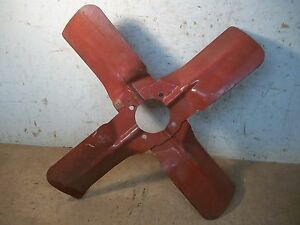 Lot C Old Vintage Ihc Or Farmall Tractor Fan Blade 17 13 16 4 Bolt Hole