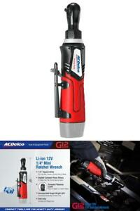 Acdelco Cordless G12 Series Li ion 12v Max Ratchet Wrench 1 4 Ratchet Wrench