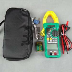 Ms2015b Mastech Digital Clamp Meter Multimeter Resistance Temperature Ncv
