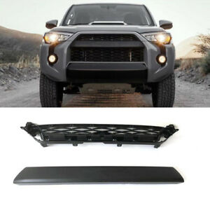 2pcs Front Bumper Grille Replacement For Toyota 4runner Trd Pro 2014 2019
