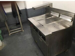 Deep Fryer Commercial Gas