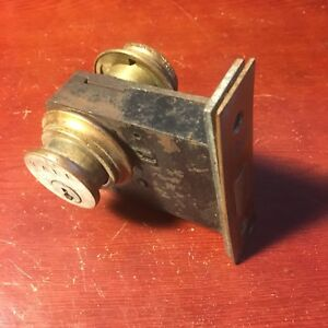 Antique Authentic Yale Mortise Door Lock 2 Yale Cylinders Used Salvage No Keys