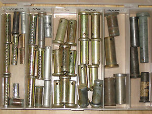 Clevis Pins Assorted Lengths And Widths 42 Pieces