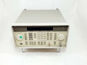 Hp 8648d Synthesized Rf Signal Generator 9khz 4000mhz 4ghz Opt 1ea