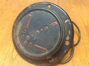 Early Directional Signal Royson 55y Flange Mount Vintage Auto Truck Arrow Lens