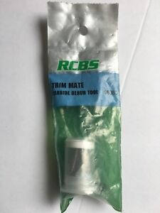 RCBS Trim Mate Carbide Debur Tool 90385 - New in Package