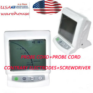 Dental Supply Apex Locator Root Canal Finder Endodontic Lcd Display 4electrodes