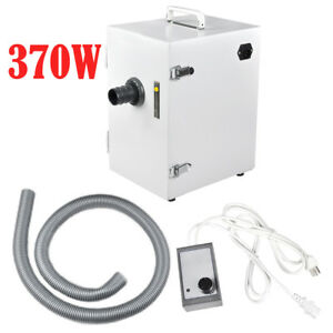 370w Dental Lab Digital Single row Dust Collector Vacuum Cleaner For Laboratory