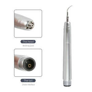 Nsk Style Dental Ultrasonic Air Perio Scaler Handpiece 2 holes With 3 Tips