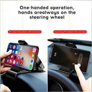 New Dashboard Car Phone Holder 360 Degree Rotation Adjustable Clip Mount Holder