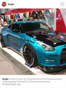 Zoom Garage Wide Body Kit For Nissan Gt R Gtr R35 09 17