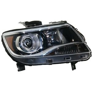 Headlight For 2015 2019 Chevrolet Colorado Passenger Side Projector Type
