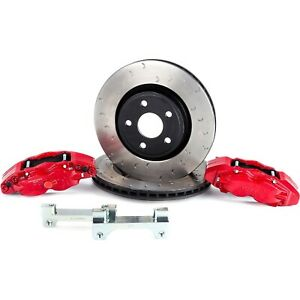 Alcon Bkf5459ax02 Big Brake Kit For 2007 2018 Jeep Wrangler jk Front