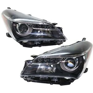 Headlight For 2015 2017 Toyota Yaris Se Pair Lh And Rh Capa