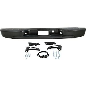 New Step Bumper Face Bar Rear For Chevy Styleside Chevrolet Silverado 1500 Truck