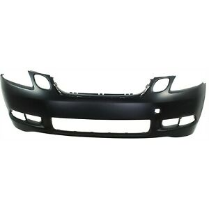Bumper Cover For 2006 Lexus Gs300 With Headlight Washer Holes Primed Front