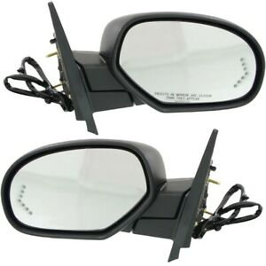 Power Mirror Set Of 2 For 2007 2014 Chevy Tahoe Heated Power Folding With Memory