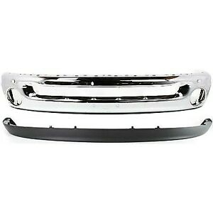 Bumper Kit For 2002 2008 Dodge Ram 1500 Front Fits Round Fog Lamp New Body Style