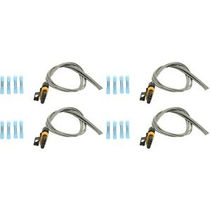 New Oxygen Sensor Harnesses Set Of 4 For Chevy Le Sabre Avalanche Suburban S10