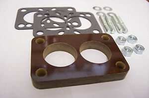 Fits Stromberg Ww Small Rochester 2g Holley 2110 Carb Spacer Phenolic Riser 1 2