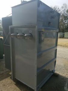 Reconditioned Square D Substation Transformer 1500 Kva 12470 D 480 Y 277