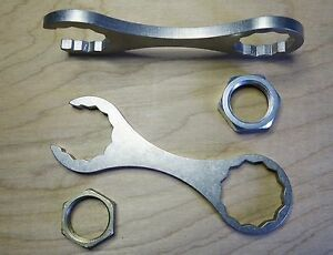 Stainless Steel Dillon Reloading die wrench for 1