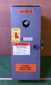1 Used General Electric Control Cr108b204dpa Enclosed Starter make Offer