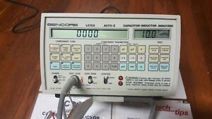 Sencore Lc102 Auto Z Capacitor Inductor Analyzer With Power Supply