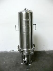 Cuno 9zwb3 Stainless Steel Cartridge Filter Housing 150psi 28 c To 175 c