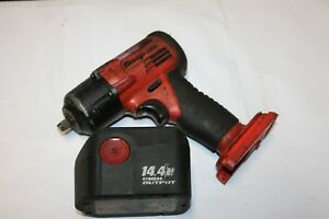 Snap on Tools 3 8 Drive Cordles Impact Wrench With Ctb4147 Battery No Charger