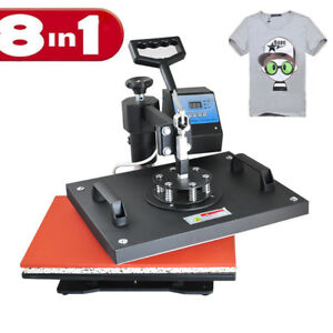 8 In1 Professional Sublimation Heat Press Printer Transfer Sublimation Machine