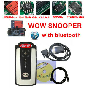 For Wow Wurth Snooper Bluetooth Obd2 Diagnostic Tool Scanner For Cars Truck 2018