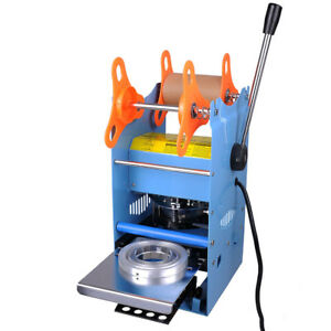 270w Commercial Boba Cup Sealer Sealing Machine Manual 110v 60hz Heavy Duty