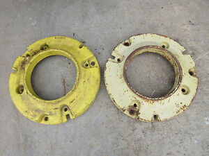 John Deere 420 430 W Rear Back Weight Set M3580t