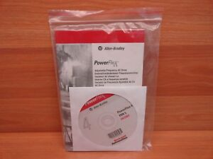 new Allen Bradley Powerflex 4 Software And Manual Frn 5 For Adj Freq Drive
