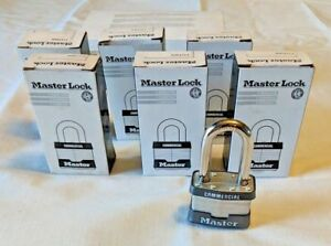 lot Of 6 new Master Lock 21lfwo Laminated Padlock Without Cylinder