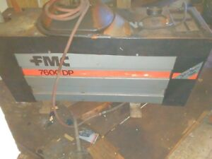 Fmc 7600 Dp Tire Changer Good Used Condition Item Pick Up Only Right Away