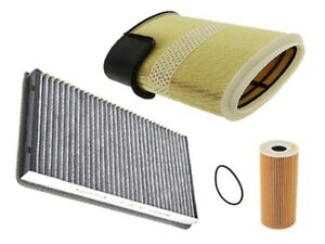 Porsche 987 09 12 Air Oil Cabin Filter Kit 3 Pcs German Engine Intake Petrol