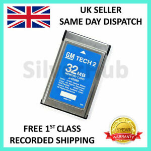 For Gm 33 004 Gm Tech2 Tech 2 32mb Memory Card Diagnostic Scanner Tis Software
