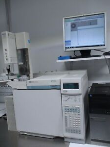 Agilent Hp 6890 Plus Gc Fid Tested 240v Computer Loaded Chemstation Software