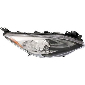 Headlight For 2010 2011 2012 2013 Mazda 3 Gx S Gt I Mazdaspeed Right Hid