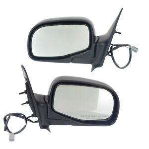 93 05 Ford Ranger 96 05 Mazda Pickup Truck Set Of Side Power Textured Mirrors