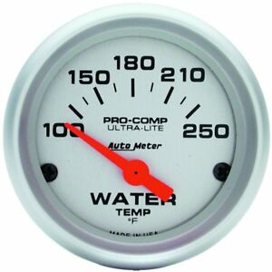 Autometer 4337 Water Temperature Gauge Electric Air core Universal