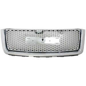 New Grille For Gmc Sierra 1500 Truck 2007 2013 Gm1200631 22761794
