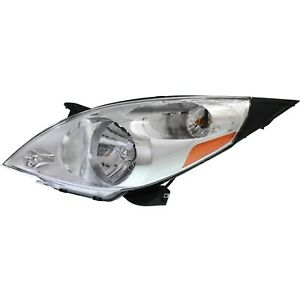 Headlight For 2013 2014 2015 Chevrolet Spark Left With Bulb And Wiring Harness