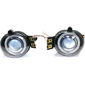 Fog Light Kit Halo Projector Style For 02 08 Dodge Ram 1500 2500 3500