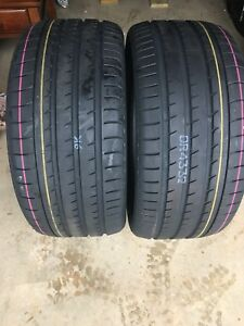 2 New Yokohama Advan Sport Tires 275 40 R20 Y106