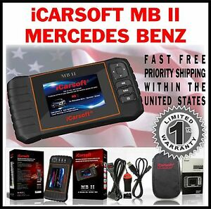 Mercedes Benz Cls Class 218 219 Obd2 Scan Tool Reset Check Engine Light Abs Mbii