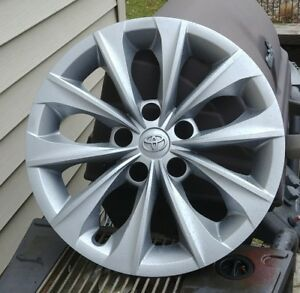 Oem 2014 2017 Toyota Camry 16 Silver Hub Cap Wheel Cover 42602 06120 Free S